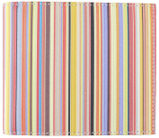 Paul Smith Mens Wallet Billfold Multi Stripe Signature Made in Italy