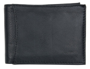 Black Great Quality Genuine Soft Leather Wallet without any Logos or Markings