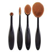 Cosanter Bending Handle Makeup Brushes Cosmetics Brush Set