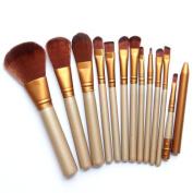 Cosanter Professional Synthetic Fibre Makeup Brushes Blush Cosmetics Brush Set