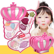 Y.F.M. Makeup Set Kids Toys Cosmetic Glitter Pretend Play Kit Eyeshadow Lip Gloss Blush for Girls Kids Children