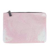 Demiawaking Sequins Cosmetic Bag Makeup Storage Bag Pouch Travel Toiletry Organiser Bag Purse Luggage Handbag
