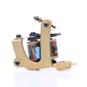 Professional Tattoo Kits Accessory Scrub Copper Shader Wrap Coil Tattoo Machine Gun TM428