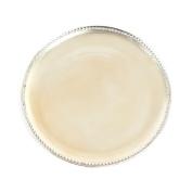 Fennco Styles Elegant Studded Orné Design 33cm Decorative Charger Plates-Set of 4