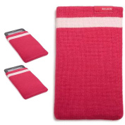 2x Belkin Thick Pink Knitted eReader Socks | Tablet Sleeves