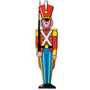 (24ct) Christmas Toy Soldier Cutout Decoration