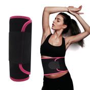 Waist Trimmer Belt for Women,Waist Trainer Belt,FOISON Slimming Body Shape Belt,Waist Trainer Corset for Weight Loss,Slim Waist for Men & Women