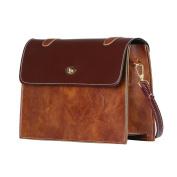 Women Vintage PU Leather Lightweight Crossbody Bag School Handbag Fashion Messenger Bags,Stylish Waterproof Travel Shoulder Beach Bags