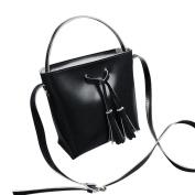 Women Vintage PU Leather Lightweight Tote Crossbody Bag,[Tassel Handbag] Fashion Messenger Bags,Waterproof Travel Shoulder Bags