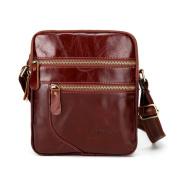 Men's Business Leather Lightweight Handbag Crossbody Bag Fashion Messenger Bags,Stylish Waterproof Travel Shoulder Beach Bags