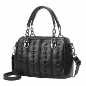 Women PU Leather Large Crossbody Bag Handbag Fashion Messenger Bags,Stylish Waterproof Travel Shoulder Beach Bags