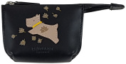 RADLEY 'Autumn Days' Black Small Leather Coin Purse £35.00