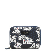 RADLEY FOLK DOG SMALL PURSE BLACK