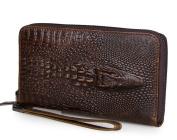 Credit Card Holder with Money Clip | RFID Blocking Wallet | Slim Wallet | Travel Wallet | Minimalist Mini Wallet for Men -chocolate colour