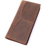 Credit Card Holder with Money Clip | RFID Blocking Wallet | Slim Wallet | Travel Wallet | Minimalist Mini Wallet for Men -Braun3