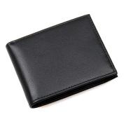 Credit Card Holder with Money Clip | RFID Blocking Wallet | Slim Wallet | Travel Wallet | Minimalist Mini Wallet for Men -Schwarz1