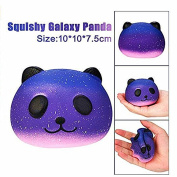 HYGMall 1PCS Starry Cute Panda Baby Cream Scented Slow Rising Squeeze Large Kawaii Squishy Charms/Hand Pillow Toy/Squeeze Toys/Hot toy/Kids Toy