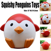Soft Toys,Familizo Cute Squishy Penguins Slow Rising Cream Dolls Scented Decompression Cure Gifts