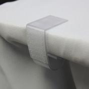 YCC Linen - 4.4cm Plastic Table Skirt Clips 30 pack
