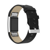 For Fitbit Charge 2 Strap Bands, Amlaiworld Shiny Leather Wristband With Metal Connectors For Fitbit Charge 2
