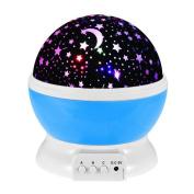 Night Lights for Kids, Saihui Rotating Sky Cosmos Star Night Romantic Projector Luminous Light Lamp Home Decor