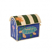 Small Toy Basket with Sea Animals Design by Rice DK