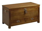moycor Star Chest with Lock, 2 Drawers, 90 x 45 x 50 cm