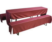 covers Garden Kit for 50 Series, Marquee, ca 25X220 cm Bordeaux, Beo