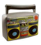 Islander Fashions Inflatable Boom Box 44X38cm Party Fancy Stag Do Blow Up Music Player Accessory