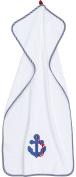 Smithy Fashion Anchor 1603057 Hand Towel 50 x 100 cm White