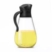 Oil Dispenser Bottle, Cooking Container Bottle Glass Olive Oil Dispenser Non-Drip Kitchen Vinegar Barbecue Marinade Dispenser Bottle With Non-Slip Handle for Kitchen