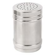 sourcingmap Stainless Steel Household Kitchen Salt Spices Condiment Cruet Bottle Silver Tone