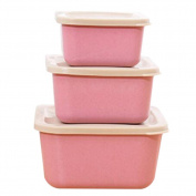 Meijunter Bento Box Container All-in-one Stackable 3 Layer Fruit Box Adults Kids Student Lunch Box Sushi Box