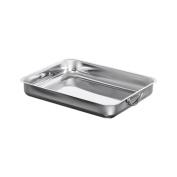 viscio Trading 175582 Lasagne Pan, Aluminium, Grey