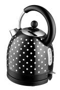Kalorik Kitchenoriginals Black Polka Dot Dome Kettle