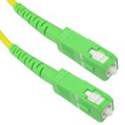 Fibre Optic Cable SC/APC to SC/APC simplex singlemode 9/125 of 10 m