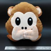 Poop Emoji Pillow Emoticon Stuffed Plush Toy Doll Smiley Cat Heart Eyes Alien Devil Kiss Face