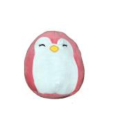Kellytoy Squishmallow 23cm Pink Penguin Super Soft Plush Toy Pillow Pet