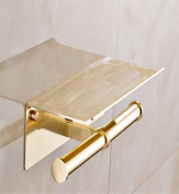 Sucastle® 255*155*80(mm) Space aluminium Wall Mounted Bathroom Toilet Paper Holders Self Adhesive Toilet Paper Holder Wall Mount Contemporary Style