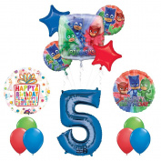 The Ultimate PJ MASKS 5th Birthday Party Supplies and Balloon decorations