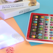 Rosepoem Tablet Computer Educational Creative Plastic Flashing Students
