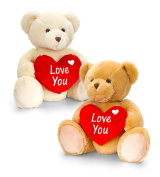 40 cm Supersoft Superior Quality Teddy With Heart Only ONE Of ANY Colour Supplied