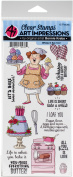 Art Impressions Work & Play Clear Stamps
