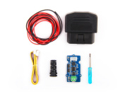 In ZIYUN OBD-II CAN-BUS Development Kit,can get data from your vehicle easily,includes a Serial CAN-BUS module as well as a OBD-II Connector,The kit don't include a controller board