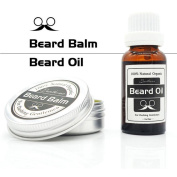 Beard Oil & Balm Premium Beard Conditioning Oil For Men Nourishes And Thickens Hair Giving Shine Without Leaving A Greasy Residue - Beard Styles, Goatees, Sideburns + Moustaches - Improve Growth, Shine And Add Texture To All Beards