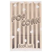 300614 19cm x 8.9cm x 30cm 5030ml EcoCraft Popcorn Bag 250/Case By TableTop King