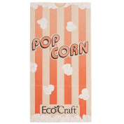 300611 11cm x 6.4cm x 21cm 1360ml EcoCraft Popcorn Bag 1000/Case By TableTop King