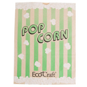 300613 19cm x 8.9cm x 23cm 3840ml EcoCraft Popcorn Bag - 500/Case By TableTop King