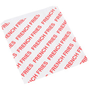 15cm x 1.9cm x 17cm Extra Large Printed French Fry Bag - 500/Pack By TableTop King
