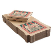 ARV9184314 Corrugated Pizza Boxes, Kraft, 18 x 18